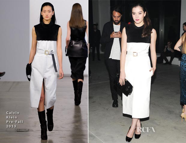 Hailee Steinfeld In Calvin Klein - Calvin Klein Spring 2014 After-Party