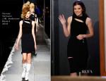 Hailee Steinfeld In Versus Versace J.W. Anderson - Jimmy Kimmel Live