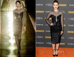 Holland Roden In Georges Chakra Couture - Entertainment Weekly's Pre-Emmy Party