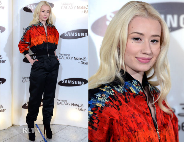 Iggy Azalea In Vionnet - Samsung's Galaxy Gear and Galaxy Note 3 Launch