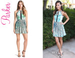 Jamie Chung's Parker 'Selita' Embroidered Dress