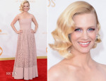 January Jones In Givenchy - 2013 Emmy Awards