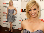 January Jones In Parker - Vanity Fair and Maybelline Toast To 'Mad Men'