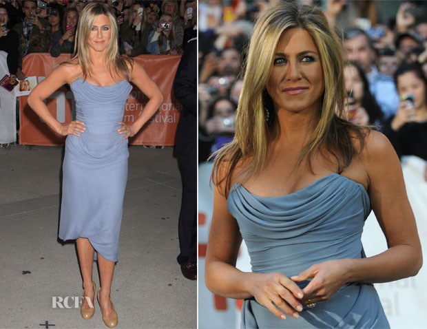 Jennifer Aniston In Vivienne Westwood - 'Life Of Crime' Toronto Film Festival Premiere