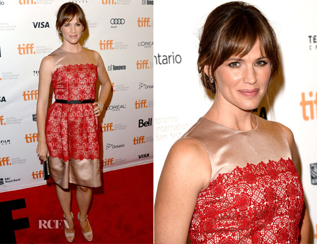 Jennifer Garner In Dolce & Gabbana - 'Dallas Buyers Club' Toronto Film Festival Premiere