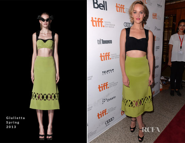 Jess Weixler In Giulietta - 'The Disappearance Of Eleanor Rigby Him And Her' Toronto Film Festival Premiere