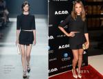 Jessica Alba in Narciso Rodriguez – 'A.C.O.D.' Los Angeles Premiere