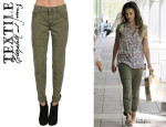 Jessica Alba's TEXTILE Elizabeth and James 'Simon' Cuffed Cargo Pants