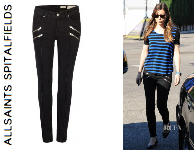 Jessica Biel's All Saints 'Rocco Hart Ashby' Jeans