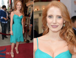 Jessica Chastain In Atelier Versace - 'The Disappearance Of Eleanor Rigby: Him And Her' Toronto Film Festival Premiere