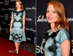 Jessica Chastain In Dolce & Gabbana - TIFF HFPA/InStyle Party
