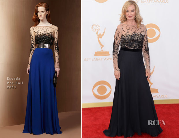 Jessica Lange In Escada - 2013 Emmy Awards