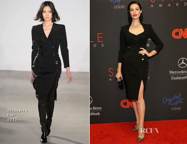 Jessica Paré In Altuzarra - 2013 Style Awards