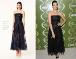 Jessica Pare In Oscar de la Renta - Variety & Women In Film Pre-Emmy Event