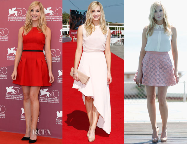 Joanne Froggatt In Topshop & Camilla and Marc - Venice Film Festival