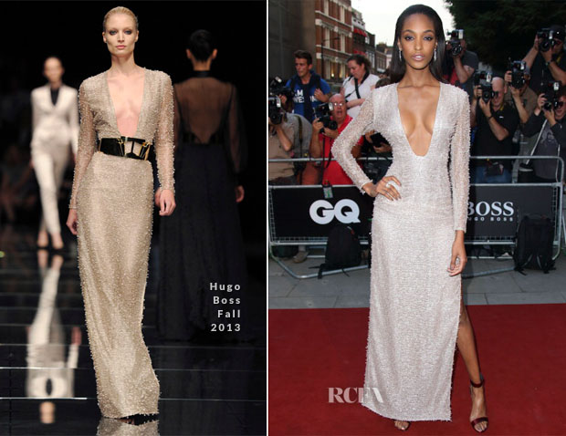 Jourdan Dunn In Hugo Boss - GQ Men Of The Year Awards