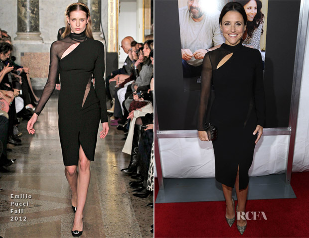Julia Louis-Dreyfus In Emilio Pucci - 'Enough Said' New York Premiere