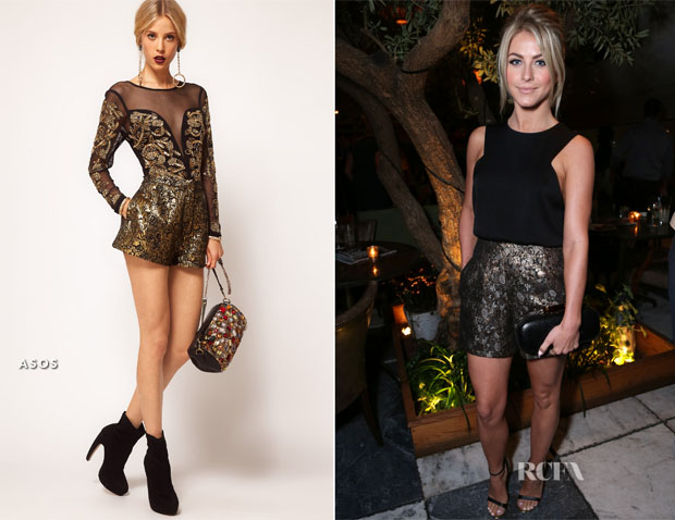 Julianne Hough In ASOS - The Hollywood Reporter's Emmy Party