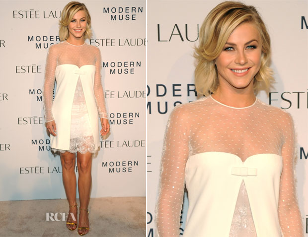 Julianne Hough In Emilio Pucci - Estee Lauder 'Modern Muse' Fragrance Launch Party