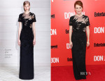 Julianne Moore In Jason Wu - 'Don Jon' New York Premiere