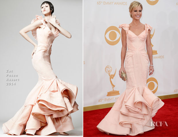 Julie Bowen In Zac Posen - 2013 Emmy Awards