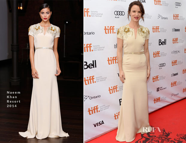 Juliette Lewis In Naeem Khan - 'August Osage County' Toronto Film Festival Premiere