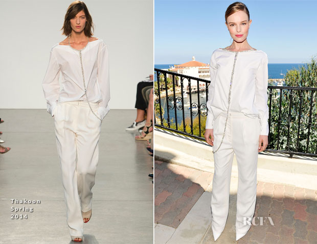 Kate Bosworth In Thakoon - 2013 Catalina Film Festival