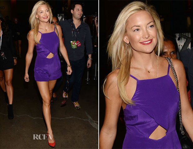 Kate Hudson In Bec & Bridge - iHeartRadio Music Festival - Day 1 - Backstage