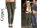 Kate Hudson's Gypsy 05 'Mondrian' Silk Tuxedo Drawstring Pants