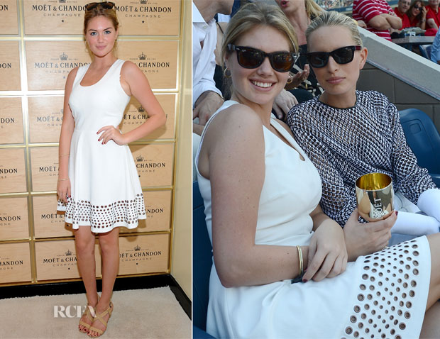 Kate Upton In Robert Rodriguez - 2013 US Open