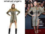 Katy Perry's Emanuel Ungaro Dress