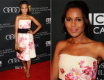 Kerry Washington In Giambattista Valli - BAFTA LA TV Tea Party
