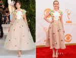 Kiernan Shipka In Delpozo - 2013 Emmy Awards