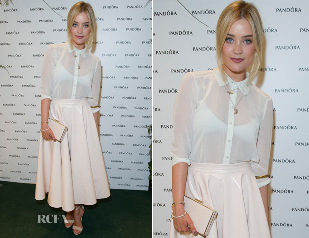 Laura Whitmore In Topshop - Pandora Oxford Street Store Launch Party