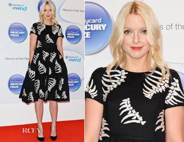 Lauren Laverne In YMC - Barclaycard Mercury Prize Shortlist Announcement