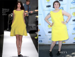 Lena Dunham In Rebecca Minkoff - 4th Annual L.A. Loves Alex's Lemonade Event