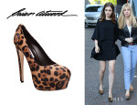 Lily Collins' Brian Atwood 'India' Pumps