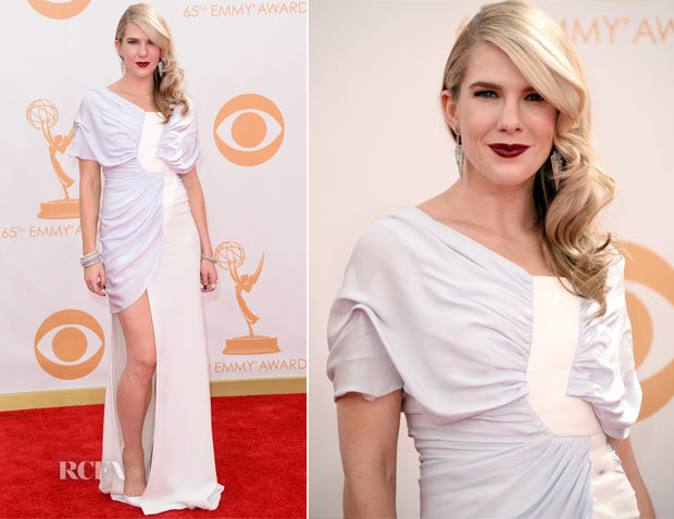 Lily Rabe In Vionnet - 2013 Emmy Awards