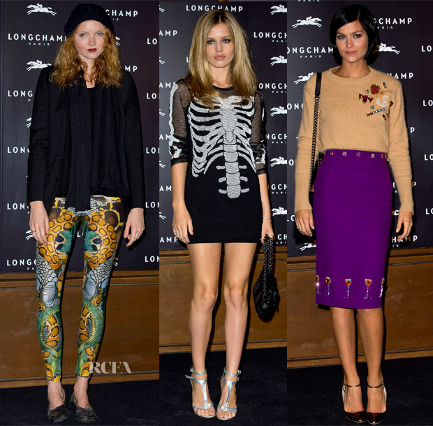 Longchamp Flagship Store Opening 14 Sept 3