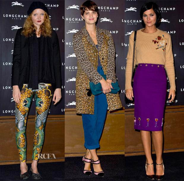Longchamp Flagship Store Opening 14 Sept 4