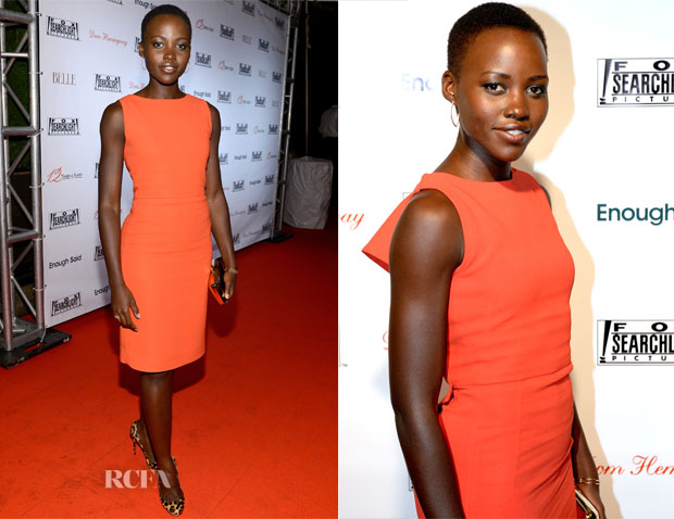 Lupita Nyong'o In Antonio Berardi - Fox Searchlight TIFF Party