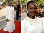 Lupita Nyong'o In Prada - '12 Years A Slave' Toronto Film Festival Premiere