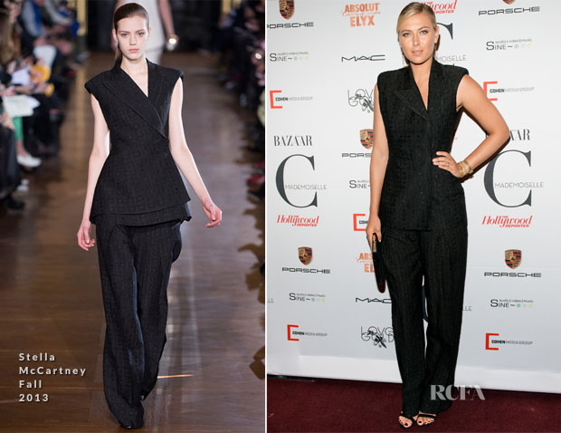 Maria Sharapova In Stella McCartney - 'Mademoiselle C' New York Premiere