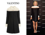 Maria Sharapova's Valentino Tulle Paneled Dress