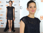Marion Cotillard In Christian Dior - 'Blood Ties' Toronto Film Festival Premiere