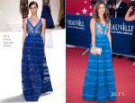 Melanie Bernier In Elie Saab - 'Snowpierce' Premiere and Deauville American Film Festival Closing Ceremony