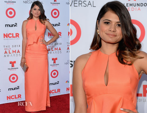 Melonie Diaz In J Mendel – 2013 NCLA ALMA Awards