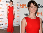 Mia Wasikowska In Christian Dior - 'Only Lovers Left Alive' Toronto Film Festival Premiere