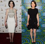 Michelle Dockery In Antonio Berardi & Miu Miu - Pre & Post Emmy Awards Parties