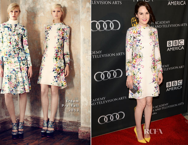 Michelle Dockery In Erdem - BAFTA LA TV Tea 2013